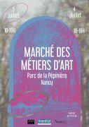Marché des Métiers d'Art de Nancy Pépinière 54000 Nancy du 03-07-2021 à 10:00 au 04-07-2021 à 18:00