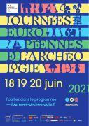 Journées de l'Archéologie Lorraine et Grand Est Lorraine, Champagne-Ardenne, Alsace du 18-06-2021 à 10:00 au 20-06-2021 à 19:00