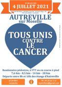 Marches contre le Cancer à Autreville-sur-Moselle 54380 Autreville-sur-Moselle du 04-07-2021 à 08:00 au 04-07-2021 à 13:00