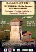 Exposition Peintures, Photos et Sculptures à Dugny-sur-Meuse 55100 Dugny-sur-Meuse du 03-07-2021 à 14:00 au 04-07-2021 à 18:00