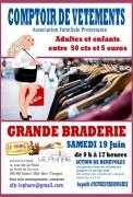 Braderie de Vêtements à Saint-Dié-des-Vosges 88100 Saint-Dié-des-Vosges du 19-06-2021 à 09:00 au 19-06-2021 à 17:00