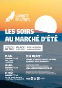 Les Soirs au Marché d'Été Guinguettes à Rochesson 88120 Rochesson du 16-07-2021 à 18:00 au 14-08-2021 à 21:00