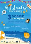 Concerts Les Estivales d'Hattonchâtel 55210 Vigneulles-lès-Hattonchâtel du 04-07-2021 à 16:30 au 25-07-2021 à 19:00