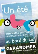 Un Été au bord du Lac Gérardmer 88400 Gérardmer du 03-07-2021 à 10:00 au 24-08-2021 à 20:00