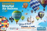 La Grande Ligne Record de Montgolfières Chambley 54890 Chambley-Bussières du 25-07-2021 à 06:30 au 25-07-2021 à 21:00