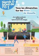 Sierck O bord de l'O Animations Estivales à Sierck-les-Bains 57480 Sierck-les-Bains du 04-07-2021 à 10:00 au 29-08-2021 à 20:00