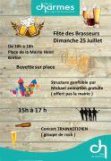 Fête des Brasseurs et de la Bière à Charmes 88130 Charmes du 25-07-2021 à 10:00 au 25-07-2021 à 18:00