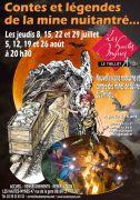 Visites Contes et Légendes aux Hautes-Mynes du Thillot 88160 Le Thillot du 08-07-2021 à 20:30 au 26-08-2021 à 22:00