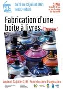 Atelier Fabrication Boîte à Livres à Frouard 54390 Frouard du 19-07-2021 à 13:30 au 23-07-2021 à 16:30