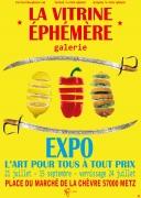 Exposition d'Été Vitrine Ephémère Metz 57000 Metz du 21-07-2021 à 14:00 au 15-09-2021 à 19:00