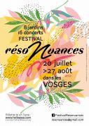 Festival RésoNuances Musique Jardins des Vosges Vosges du 20-07-2021 à 20:00 au 27-08-2021 à 22:00