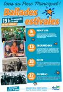Concerts Estivaux à Ars-sur-Moselle 57130 Ars-sur-Moselle du 06-08-2021 à 19:00 au 27-08-2021 à 20:30