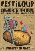 Festiloup Marché Paysan Festif à Rosières-en-Haye 54385 Rosières-en-Haye du 26-09-2021 à 09:30 au 26-09-2021 à 17:30