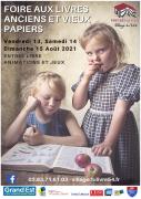 Foire aux Livres Fontenoy-la-Joûte 54122 Fontenoy-la-Joûte du 13-08-2021 à 14:00 au 15-08-2021 à 18:00