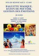 Ateliers Création Baguette Magique Enfant à Ennery 57365 Ennery du 31-08-2021 à 14:00 au 18-09-2021 à 17:00