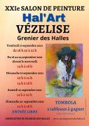 Salon de Peinture Hal'Art à Vézelise 54330 Vézelise du 17-09-2021 à 18:30 au 26-09-2021 à 18:00