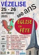 Eglise en fête à Vézelise 500 ans 54330 Vézelise du 25-09-2021 à 10:00 au 26-09-2021 à 18:00