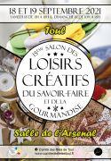Salon des Loisirs Créatifs et du Savoir-Faire à Toul 54200 Toul du 18-09-2021 à 10:00 au 19-09-2021 à 18:00
