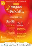 Festival Musique aux Mirabelles à Hattonchâtel 55210 Vigneulles-lès-Hattonchâtel du 25-09-2021 à 20:00 au 03-10-2021 à 18:30