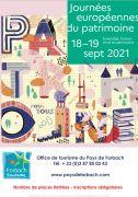 Journées du Patrimoine à Forbach 57600 Forbach du 17-09-2021 à 14:00 au 19-09-2021 à 18:00