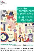 Journées du Patrimoine à Épinal 88000 Epinal du 18-09-2021 à 08:00 au 19-09-2021 à 20:00