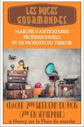 Puces Gourmandes à Nancy 54000 Nancy du 17-09-2021 à 09:00 au 09-10-2021 à 19:00