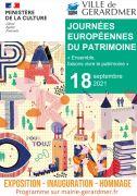 Journées du Patrimoine à Gérardmer 88400 Gérardmer du 18-09-2021 à 09:00 au 18-09-2021 à 12:00