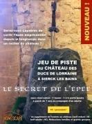 Jeu de piste Château des Ducs de Lorraine Sierck-les-Bains 57480 Sierck-les-Bains du 02-09-2021 à 10:00 au 11-11-2021 à 18:00