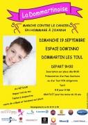 Marche contre le cancer à Dommartin lès Toul 54200 Dommartin-lès-Toul du 19-09-2021 à 09:30 au 19-09-2021 à 15:00