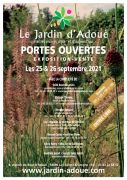 Portes ouvertes Jardin d'Adoué Lay-St-Christophe 54690 Lay-Saint-Christophe du 25-09-2021 à 10:00 au 26-09-2021 à 18:00