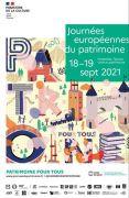 Journées du Patrimoine à Nancy 54000 Nancy du 18-09-2021 à 08:00 au 19-09-2021 à 18:00