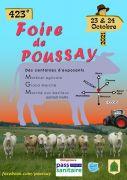 Foire de Poussay 2021 88500 Poussay du 23-10-2021 à 09:00 au 24-10-2021 à 18:00