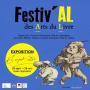 Festiv'AL des Arts du Livre à Saint-Mihiel 55300 Saint-Mihiel du 24-09-2021 à 14:00 au 26-09-2021 à 19:00