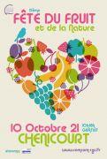 Fête du Fruit à Chenicourt 54610 Chenicourt du 10-10-2021 à 10:00 au 10-10-2021 à 18:00