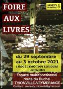 Foire aux Livres à Thionville 57100 Thionville du 29-09-2021 à 13:00 au 03-10-2021 à 18:00