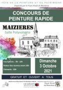 Concours de Peinture Rapide à Maizières 54550 Maizières du 03-10-2021 à 08:00 au 03-10-2021 à 18:00