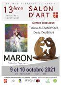 Salon d'Art de Peinture et Sculpture à Maron 54230 Maron du 09-10-2021 à 10:00 au 10-10-2021 à 18:00
