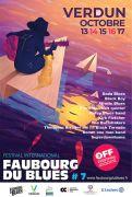 Festival Faubourg du Blues à Verdun 55100 Verdun du 13-10-2021 à 16:00 au 17-10-2021 à 19:00