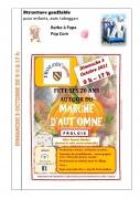 Marché d'Automne à Frolois 54160 Frolois du 03-10-2021 à 09:00 au 03-10-2021 à 17:00