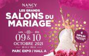 Salon du Mariage à Nancy 54500 Vandoeuvre-lès-Nancy du 09-10-2021 à 10:00 au 10-10-2021 à 19:00