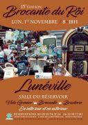 Brocante du Roi à Lunéville 54300 Lunéville du 01-11-2021 à 08:00 au 01-11-2021 à 18:00