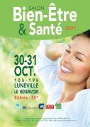 Salon Bien-Être et Santé à Lunéville 54300 Lunéville du 30-10-2021 à 10:00 au 31-10-2021 à 19:00