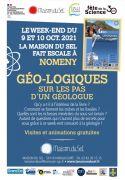 Géo-logiques Fête de la Science à Nomeny 54610 Nomeny du 09-10-2021 à 10:00 au 10-10-2021 à 17:30