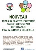 Troc aux Plantes d'Automne à Belleville 54940 Belleville du 16-10-2021 à 10:00 au 16-10-2021 à 15:00