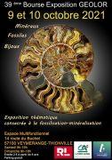 Bourse Exposition Fossilisation Minéralisation Thionville 57100 Thionville du 09-10-2021 à 09:00 au 10-10-2021 à 18:00