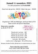 Soirée Loto à Stuckange 57970 Stuckange du 06-11-2021 à 18:30 au 06-11-2021 à 23:00
