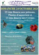 Bourse Aquariophile à Laxou 54520 Laxou du 24-10-2021 à 10:00 au 24-10-2021 à 18:00
