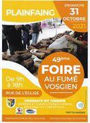 Foire au Fumé Vosgien à Plainfaing 88230 Plainfaing du 31-10-2021 à 08:00 au 31-10-2021 à 18:00