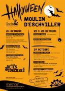 Halloween en Famille au Moulin d'Eschviller  57720 Volmunster du 24-10-2021 à 10:00 au 29-10-2021 à 23:00