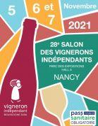 Salon des Vignerons Indépendants à Nancy Parc Expo 54500 Vandoeuvre-lès-Nancy du 05-11-2021 à 15:00 au 07-11-2021 à 18:00